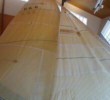 Australia II Sails by lezvee