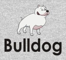 Bulldog Dog Owner Sticker One Piece - Long Sleeve