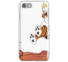 calvin and hobbes - Wow iPhone Case/Skin