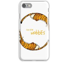 calvin and hobbes - Year of the Hobbes iPhone Case/Skin