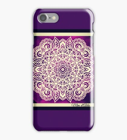 Purple Patch iPhone Case/Skin