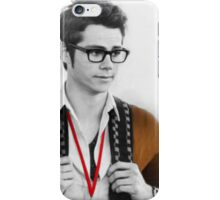 dylan o'brien b&w iPhone Case/Skin