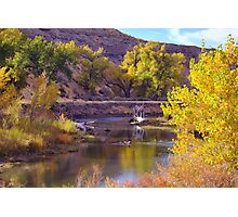 Truckee River  Photographic Print
