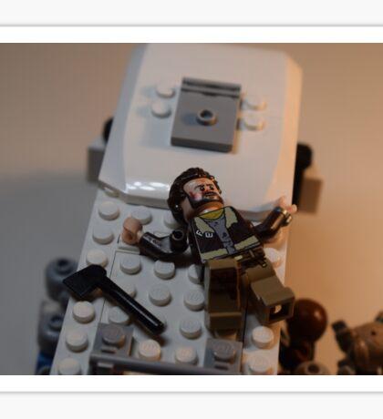 LEGO Apocalypse Hero Sticker