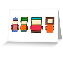 Simple South Park Greeting Card