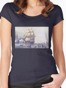 The Eventful Voyage of H.M. Resolute (1857) Women's Fitted Scoop T-Shirt