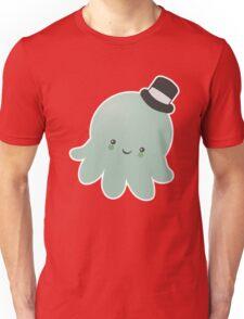 Cute Octopus wearing a Top Hat Unisex T-Shirt