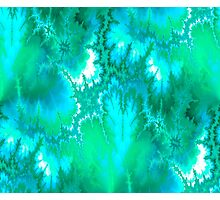 Synaptic Transmission (Cerulean Sky) Photographic Print