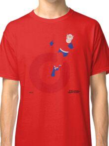 Orion - Superhero Minimalist Alphabet Clothing Classic T-Shirt