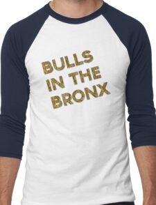 Bulls in the Bronx Men's Baseball ¾ T-Shirt