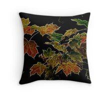 Autumn Sparkles Throw Pillow
