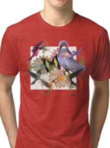 swan medley Tri-blend T-Shirt