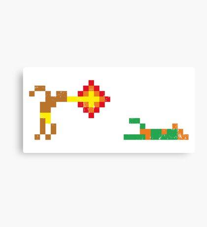 Street Fighter - Dhalsim vs Blanka Canvas Print