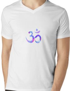 Synaptic Transmission (Ocean Sunset) Mens V-Neck T-Shirt