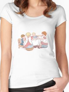 Birthday party Women's Fitted Scoop T-Shirt