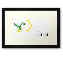Street Fighter - Guile vs Ryu Framed Print