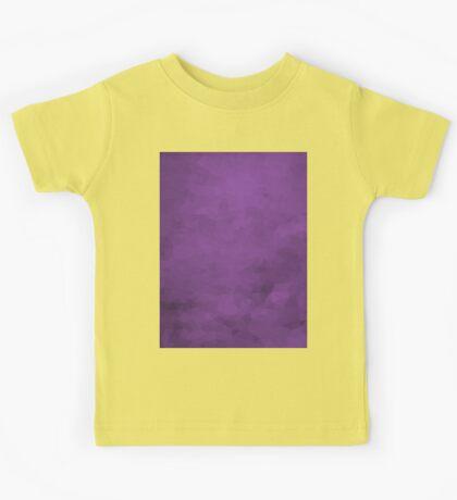 LowPoly Purple Kids Tee