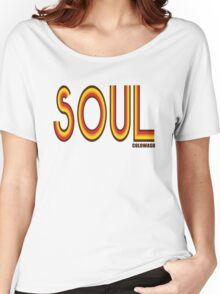 SOUL Women's Relaxed Fit T-Shirt