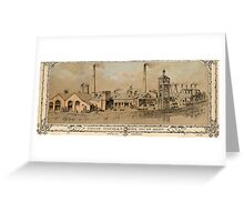 Naylor, Vickers and Co, River Don Works (Millsands), Sheffeld, 1858 Greeting Card