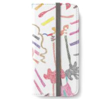 Curves & Symbols iPhone Wallet/Case/Skin