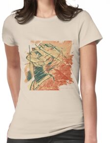 Broken Pieces  Womens Fitted T-Shirt