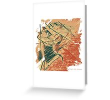 Broken Pieces  Greeting Card