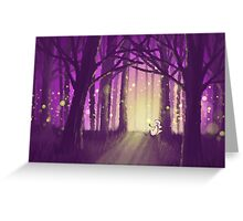 Dreamer - Spirit of the Forest Greeting Card