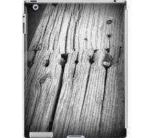 Old wood rail iPad Case/Skin