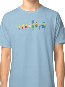 The simpsons - Pixel serie Classic T-Shirt