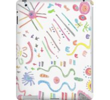 Curves & ethnic symbols iPad Case/Skin