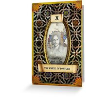 The Marvelous Tarot - X Greeting Card