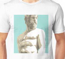 Greek Statue #2 - Light Blue Unisex T-Shirt