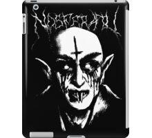 Black Metal Nosferatu iPad Case/Skin
