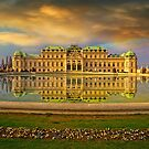 Upper Belvedere in late afternoon by Delfino