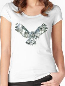 Night Women's Fitted Scoop T-Shirt