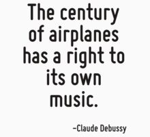 The century of airplanes has a right to its own music. by Quotr