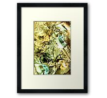 Glimpse of new gold Framed Print