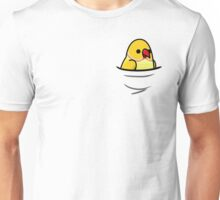 Too Many Birds! - Yellow Indian Ringneck Unisex T-Shirt