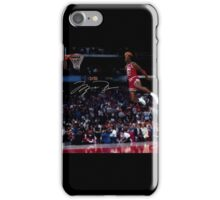 Michael Jordan Slam Dunk 2 iPhone Case/Skin