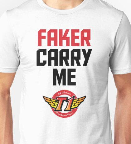 Faker Carry Me Unisex T-Shirt