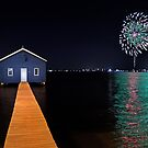 Crawley Edge Boatshed Fireworks  by EOS20