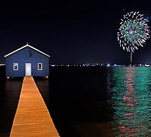 Crawley Edge Boatshed Fireworks  by EOS20