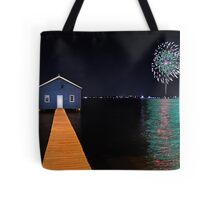 Crawley Edge Boatshed Fireworks  Tote Bag