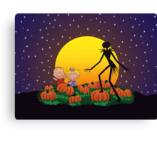 The Great Pumpkin King Canvas Print