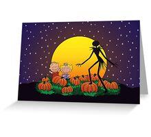 The Great Pumpkin King Greeting Card