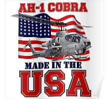 AH-1 Cobra Made in the USA Poster