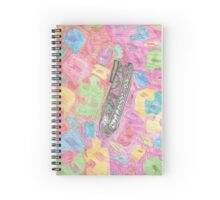 The quirky shoe dream Spiral Notebook