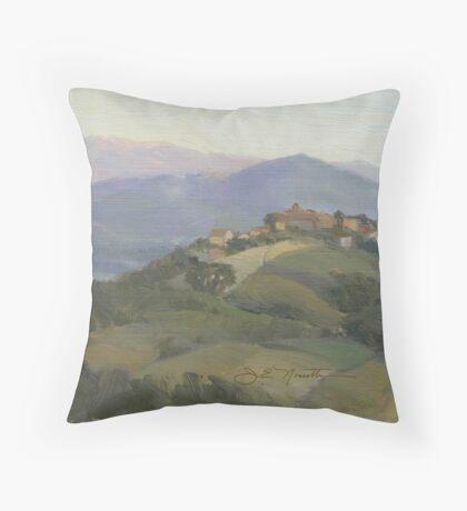 Castello delle Forme Throw Pillow