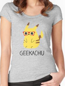 Super Geeky Women's Fitted Scoop T-Shirt