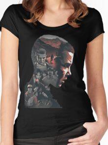 Stranger Things Netflix Women's Fitted Scoop T-Shirt